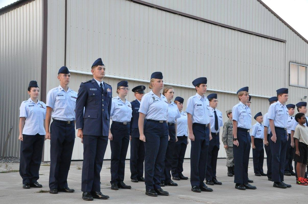 Anoka Civil Air Patrol Cadet Formation