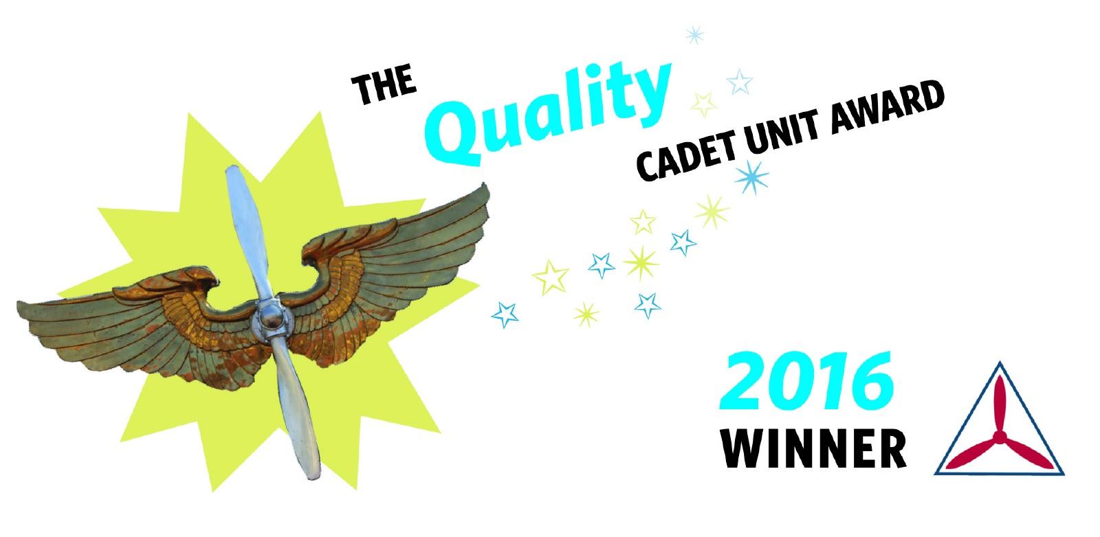 Quality Cadet Unit Award